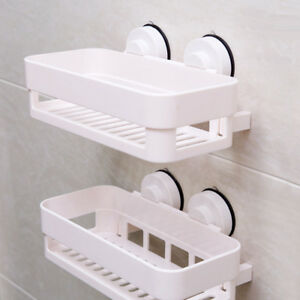Incredible Details About Plastic Suction Cup Shower Caddy Basket Bathroom Shower Shelf Organizer Download Free Architecture Designs Intelgarnamadebymaigaardcom