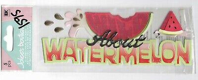 JOLEE/'S BOUTIQUE I LOVE WATERMELON DIMENSIONAL STICKERS  BNIP