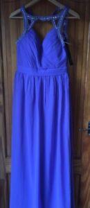 Maxi Mistress Detail Nuovi Tags Dress Little Size 12 Ladies Diamante 5702791333941 Sleevless HWF58qT