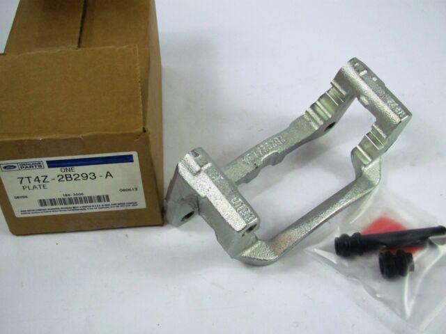 FORD OEM Caliper Support Bracket - Plate 7T4Z2B293A - Front Left Disc Brake New