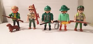 Abenteuer Playmobil Playmobil 5 Figuren Jäger Safari Abenteuer Hunter Cazador