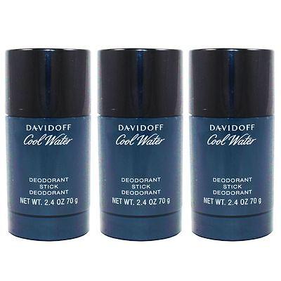 Davidoff Cool Water Man - Men 3 x 75 ml Deostick Deo Stick Set