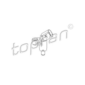 Capteur Roue Essieu Avant Droite-TOPRAN 109 753