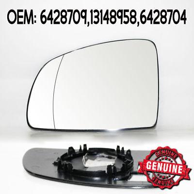 Summit SRG-889 Left Side N//S Wing Door Mirror Glass Vauxhall Meriva 03-On