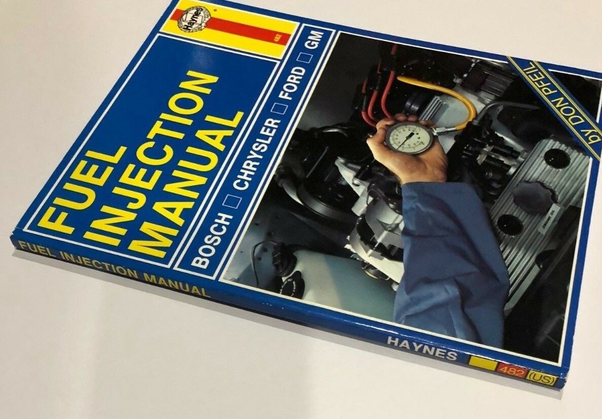 Haynes Automotive Fuel Injection Manual Guide for Bosch CHRYSLER Ford & GM  22066 | eBay