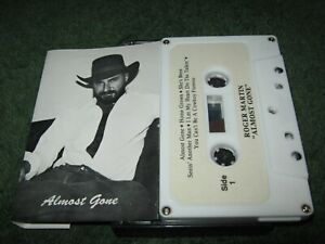 Roger Martin - Almost Gone (cassette) cleveland ohio gary dee outlaw country