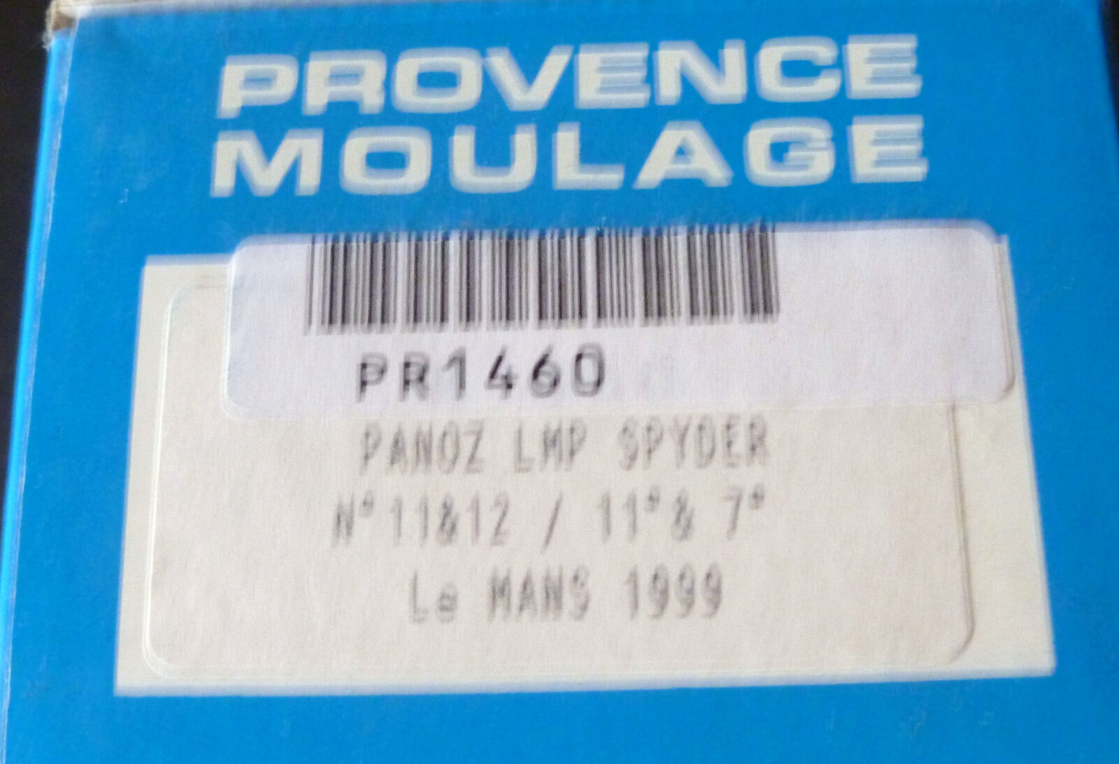 PANOZ LMP SPYDER   LE MANS  - 1999    PROVENCE MOULAGE 1 43