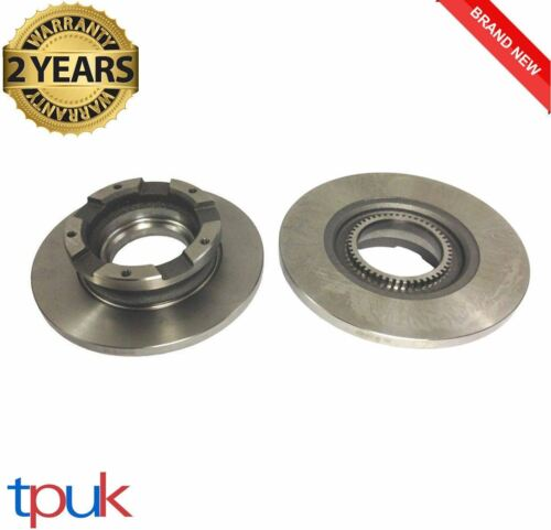 FORD TRANSIT 2.2 FWD REAR BRAKE DISCS 2006-2014 MK7 PAIR LEFT RIGHT