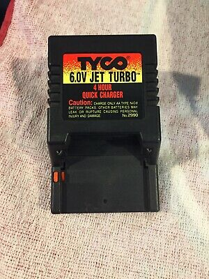 JET TURBO 4 HOUR QUICK CHARGER 2990 NiCd Battery Pack 6.0V TYCO RC 6V