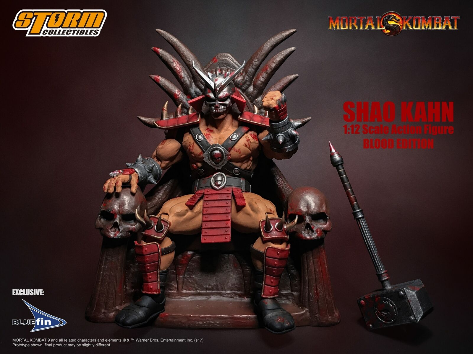 Mortal Kombat Shao Kahn Action Figure