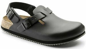 BIRKENSTOCK-Schuhe-Tokio-BS-61194-Black-Schwarz-normale-Weite-Echtleder