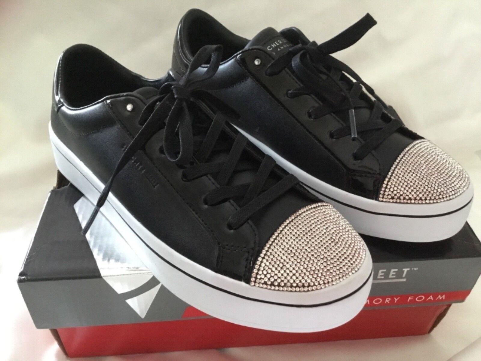 Skechers Hi-lites-en la la la calle Punto Zapatos-Negro  minorista de fitness