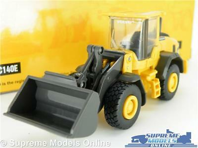 Volvo L60h Model Excavator Digger 1:50-1:64 Scale New Ray Construction K8 Hochglanzpoliert