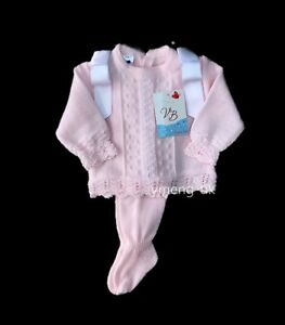 897140930fa44 Image is loading SALE-Stunning-VB-Baby-Girl-Pink-Spanish-Knitted-