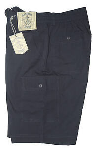 Bermuda-uomo-cargo-M-L-XL-XXL-3XL-pantalone-corto-tasconi-blu-SEA-BARRIER-marea