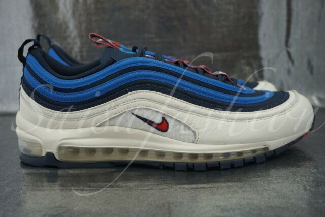 NIKE AIR MAX 97 SE PULL TAB OBSIDIAN UNIVERSITY RED SAIL AQ4126 400 MEN Sz  10 4955c2186