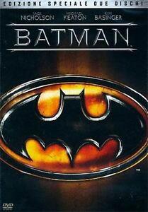DVD-Batman-1989-EDIZIONE-SPECIALE-2-DISCHI-RARO-FUORI-CATALOGO-TIM-BURTON