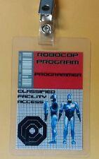 Robocop ID Badge - Programmer cosplay prop costume
