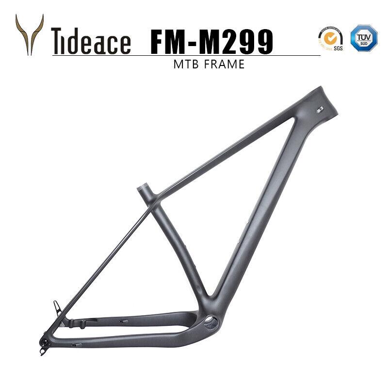Súper Ligero Eje Pasante 960g 148x12 Boost marco de carbono para bicicleta de montaña bicicleta de montaña 29er Plus