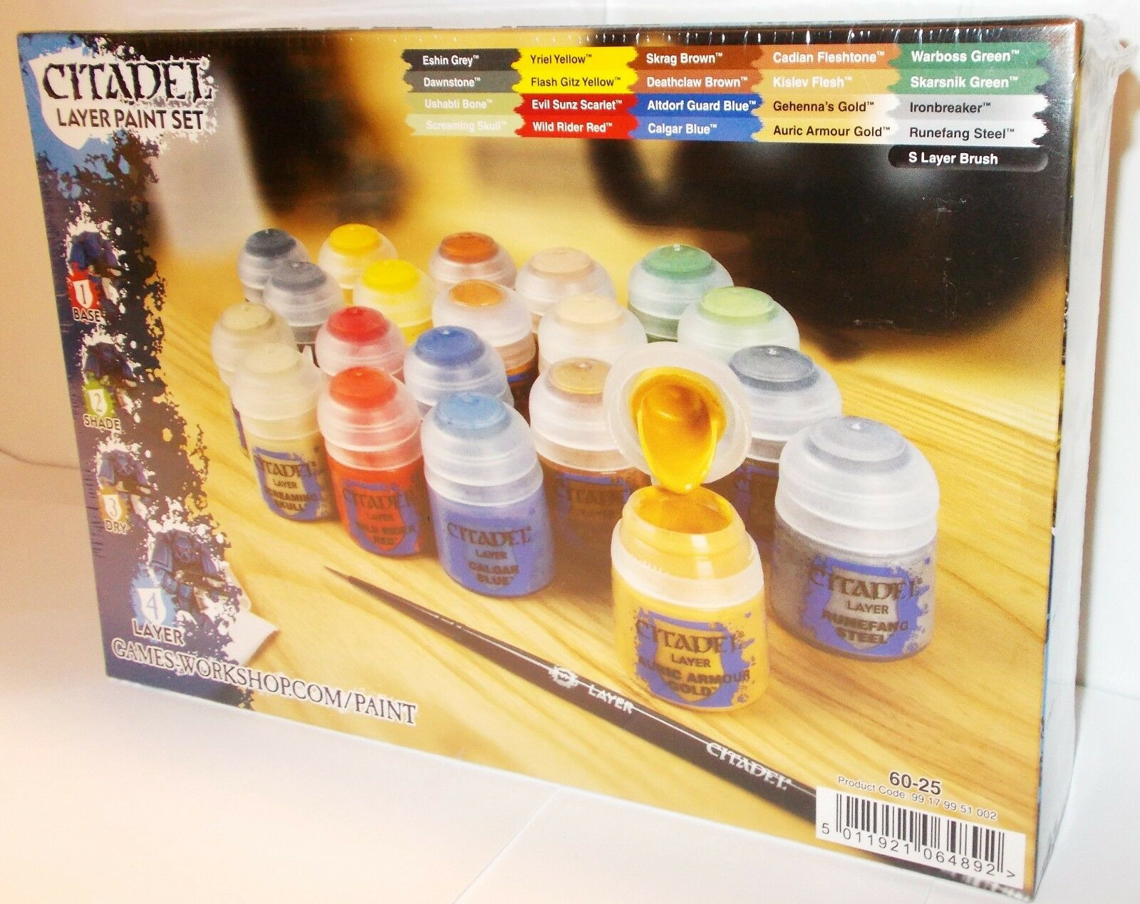 Games Workshop Citadel - 60-25 - Layer Paint Set - New (Wargaming)
