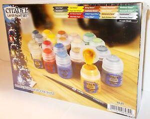 Atelier de jeux / citadelle - Ensemble de peinture 60-25 couches Nouveau (wargaming) 5011921064892
