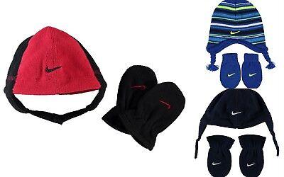 Nike Polare Cappello E Guanti Set Invernale-bambino Neonati 12-24 Mesi-mostra Il Titolo Originale Fabbriche E Miniere
