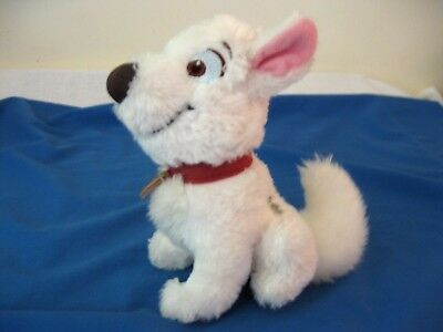 "Disney Store Exclusive Movie Character BOLT 7.5"" Plush Beanbag Sitting Puppy"