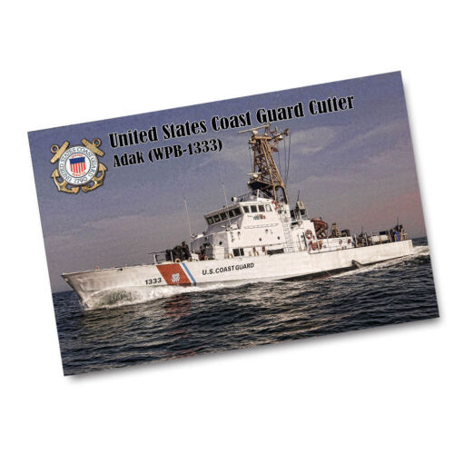 2 Sizes Available US Coast Guard Cutter Adak WPB-1333 Poster