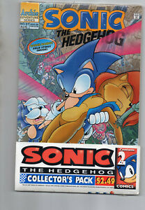 Sonic The Hedgehog 28 37 Rare Sealed Collectors Pack Toys R Us 1995 Ebay