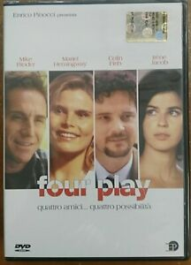 Four-Play-DVD-Nuovo-sigillato-EP-Enrico-Pinocci