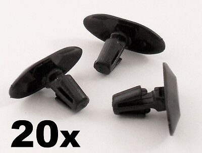 20x Peugeot Plastic Weatherstrip Clips- For rubber door seals, door gasket clips