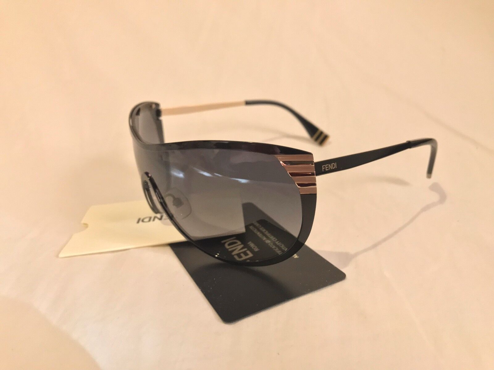 (NEW) Fendi FF 0057/S MXKHD Shiny Black Sunglasses W/ CARD (PRICED TO SELL!)