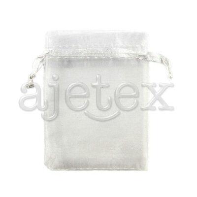 25/50/100/200pcs Wedding Favour Party Xmas Organza Gift Bag Candy Pouch 20x30cm