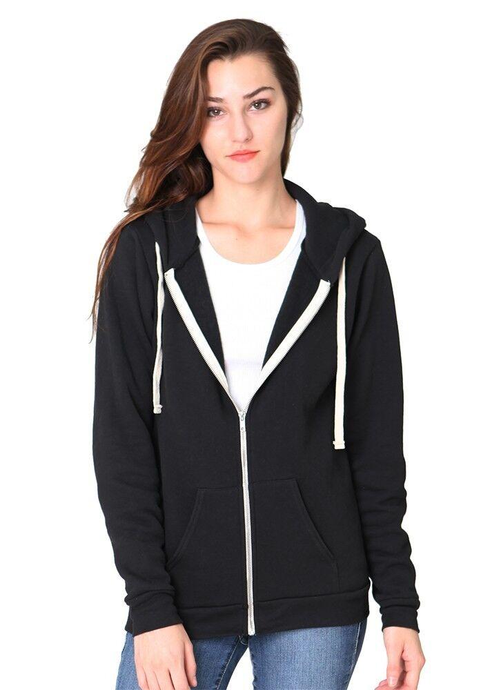 Women's Organic Fleece Zip Zip Zip Hoody 96050 2a6d6e