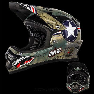 ONeal Backflip KINDER MTB DH BMX RL2 Wingman grau mountainbike Helm freeride