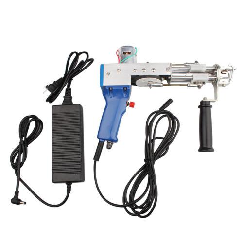 High speed Electric Loop Cut Pile carpet tufting gun weaving flocking machine
