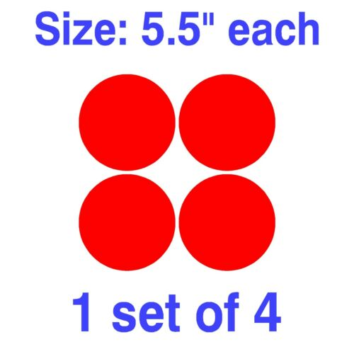 "Dot Circle Decal Vinly Sticker Polka 1/"" 1.5/"" 2/"" 2.5/"" 3/"" 3.5/"" 4/"" 4.5/"" 5/"" 5.5/"""