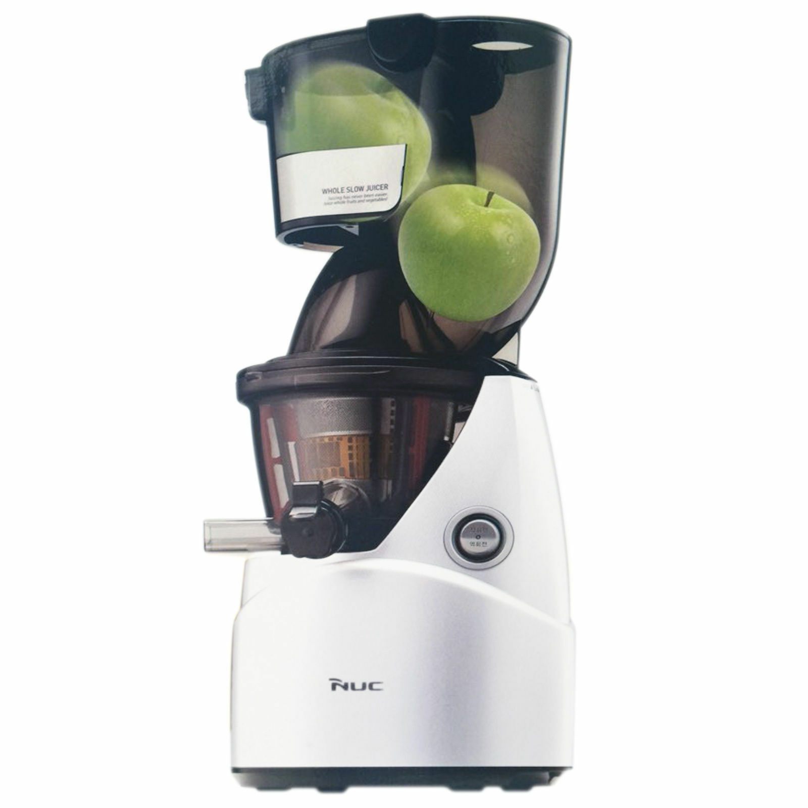 NEW NUC Kuvings KJ-621W Whole Mouth Slow Juicer Fruit Extractor (B6000) White