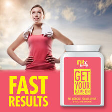 GYM BUNNY GET YOUR GAME ON PRE-WORKOUT FORMULA PILL – GREAT TONE UP TABLET
