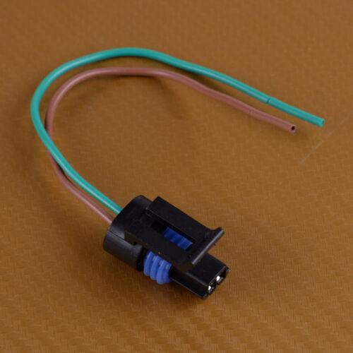 Engine Coolant Temperature Sensor Connector Plug Wire Fit for GM DELPHI 15A