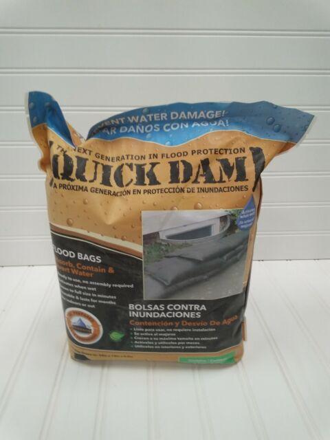 Quick Dam 10ft Flood Barrier Bag - Contain & Divert Water