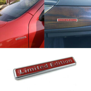 3D-Metal-Limited-Edition-Car-Sticker-Decal-Badge-Motorcycle-Sticker-Emblem-Red