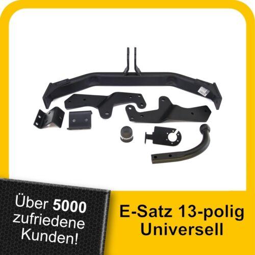 Minibus ab 08 Anhängerkupplung starr+ES 13p uni. H300 Kasten Für Hyundai H1