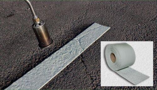 Préformé rouleau blanc 100mm large ligne réintégration cassette marqué carraigeways