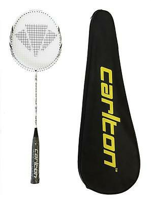 6 Carlton Shuttles RRP £290 Browning Platinum Nano 75 Badminton Racket