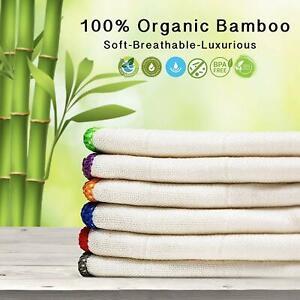 6-Pack-Organic-Bamboo-Antibacterial-Dish-Cloths-Kitchen-Towels-30x30cm-Towelogy