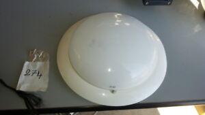 Plafoniere Con Lampadine Led : Plafoniera bianca applique parete o soffitto sirio con lampade