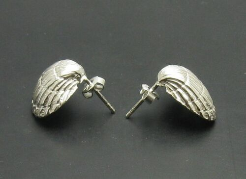 Sterling Silber Ohrringe Muscheln massiv punziert 925 handgefertigt