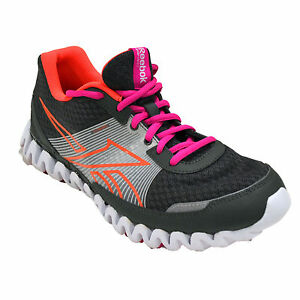 Reebok Kids Shoe Zig Tech Zignano Burn Gs Big Kids Junior Gray Pink ... dc032702b