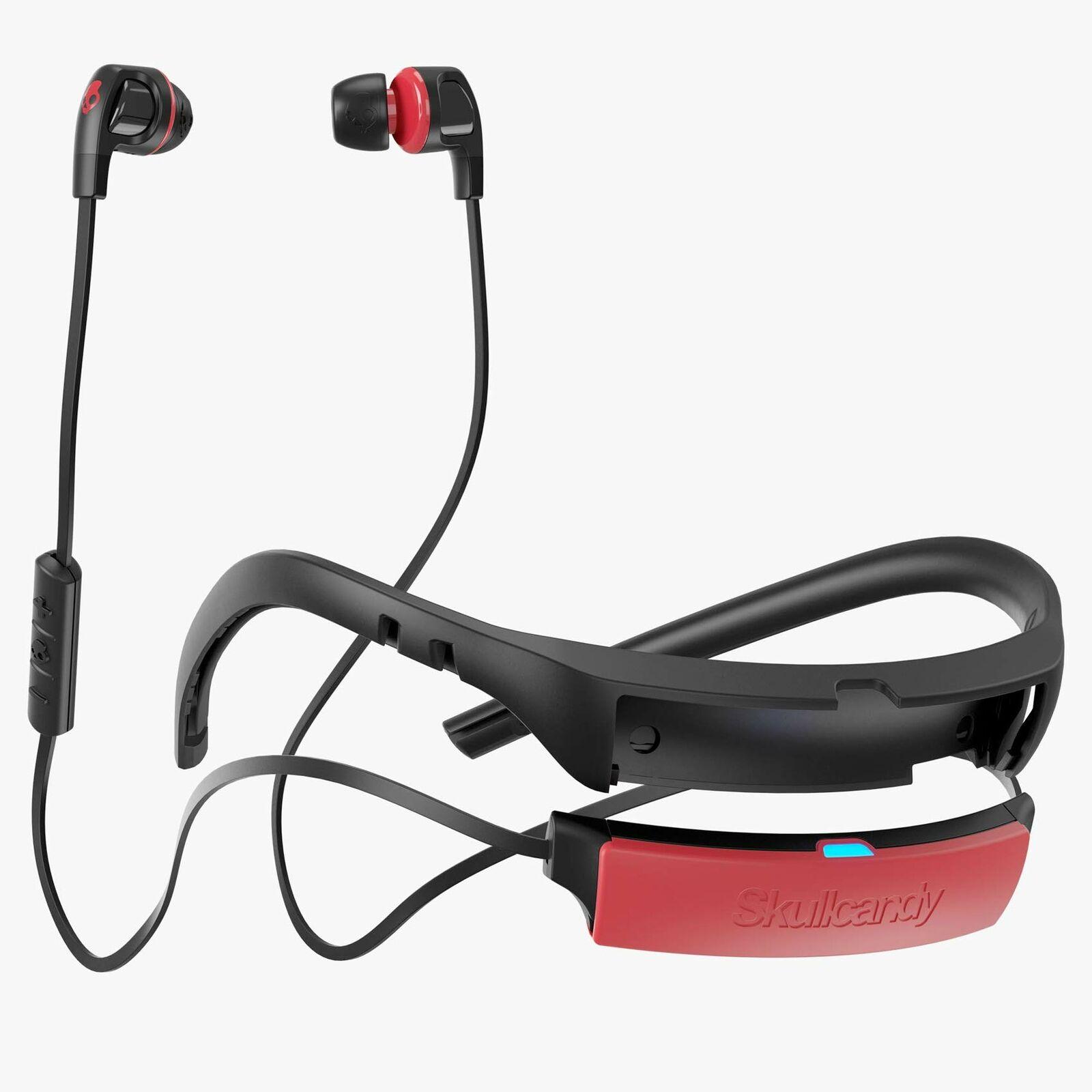 Skullcandy Smokin Buds 2 in-Ear Bluetooth Wireless Earbuds Microphone Black/Red
